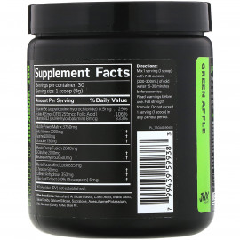 JNX Sports, The Shadow, Pre-Workout, Green Apple 270 g