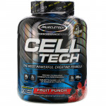 MT , Cell Tech, The Most Powerful Creatine Formula, Fruit Punch, 6.00 lb (2.72 kg)