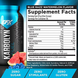 EFX Sports Karbolyn Fuel Blue Razz Watermelon 4 lbs