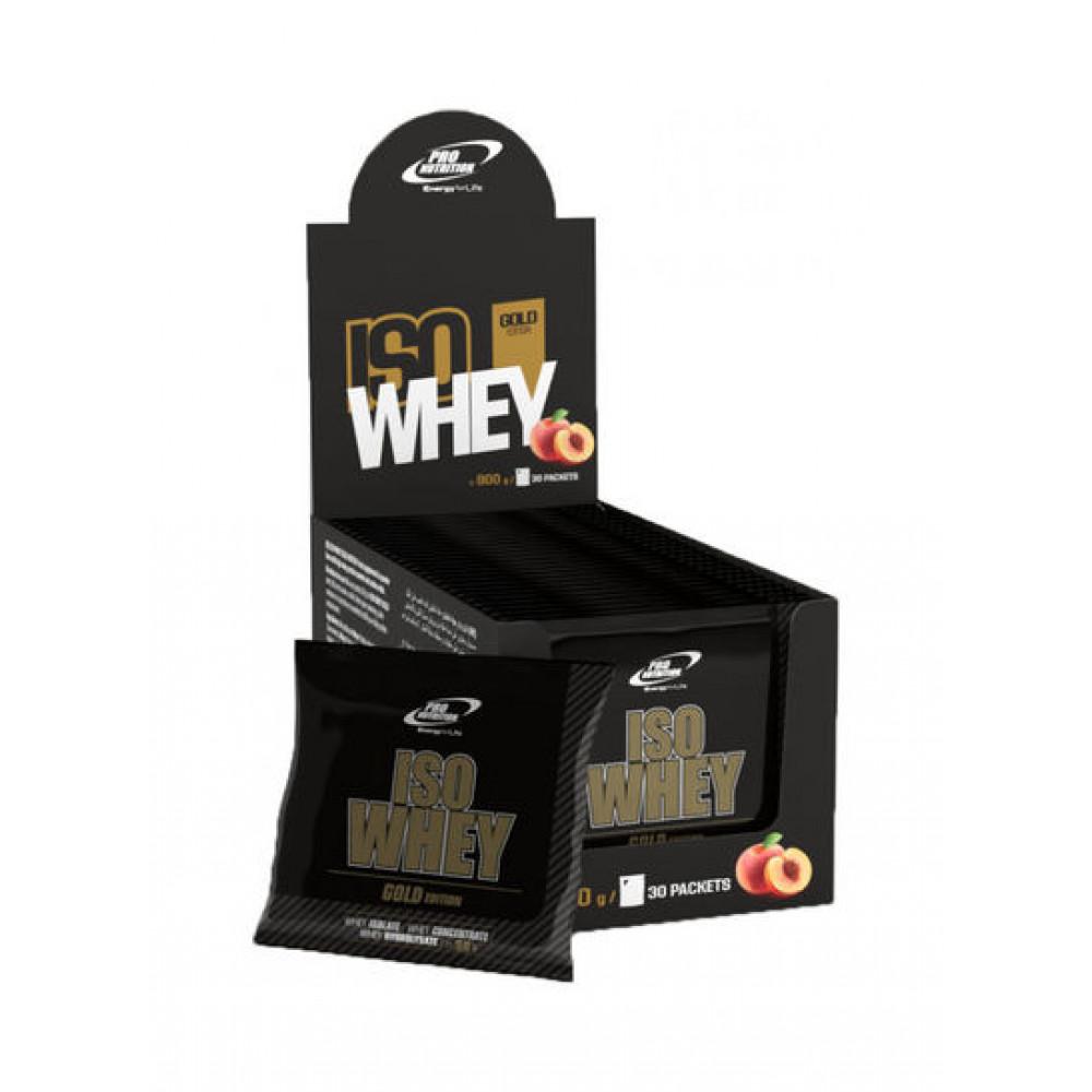 ProNut Iso Whey Supplement - Peach  30g *30 (900G)