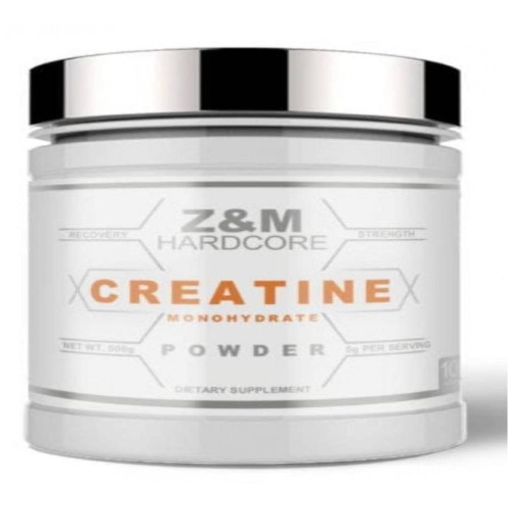 Z&M HARDCORE Creatine POWDER 100 Servings
